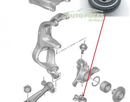 rotule de suspension inferieure pivot citroen c5 364069 364072 auto pi ces de l 39 ouest. Black Bedroom Furniture Sets. Home Design Ideas