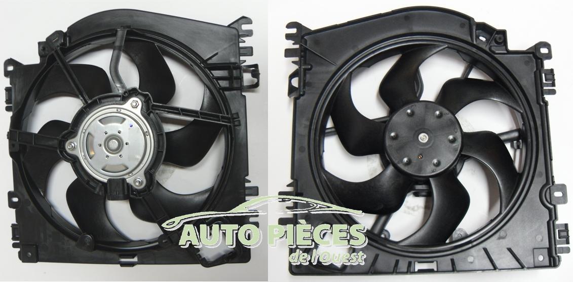 motoventilateur ventilateur refroidissement renault twingo 1 5 dci 1 6 rs auto pi ces de l 39 ouest. Black Bedroom Furniture Sets. Home Design Ideas