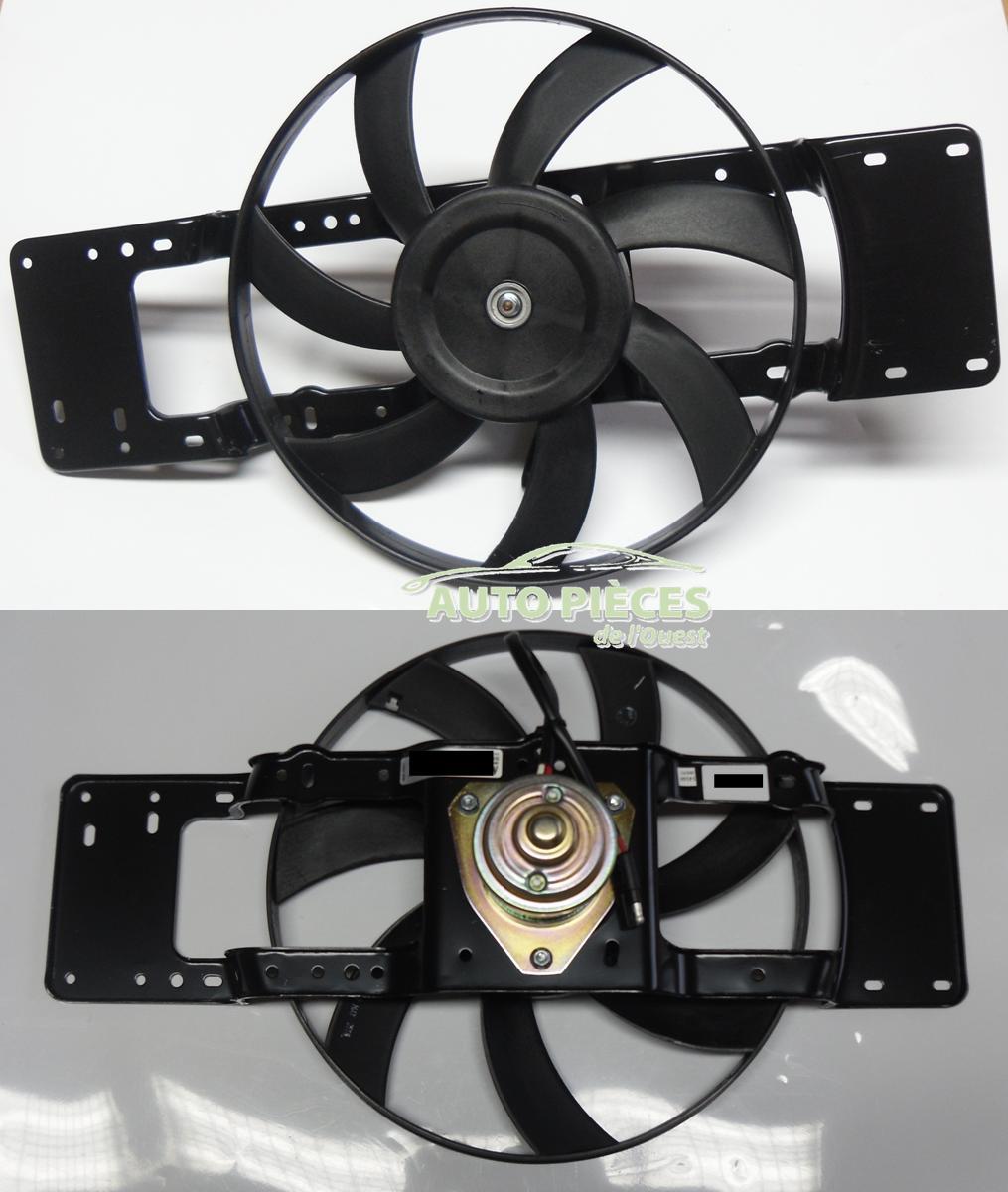 motoventilateur ventilateur refroidissement renault r19 r21 1 2 1 4 auto pi ces de l 39 ouest. Black Bedroom Furniture Sets. Home Design Ideas