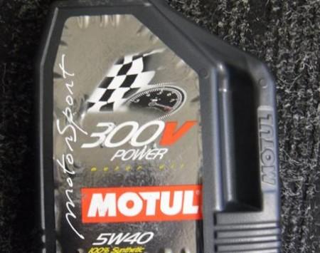 HUILE MOTEUR MOTUL 300V POWER 5W40 2 L COMPETITION