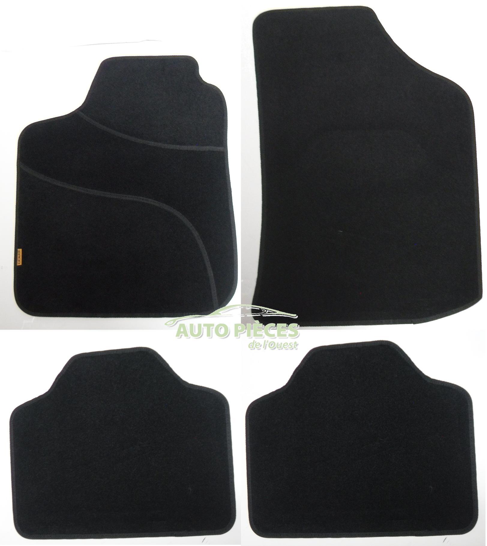 tapis de sol semi mesure ergoseat alfombras pour seat cordoba ibiza toledo 183115 auto
