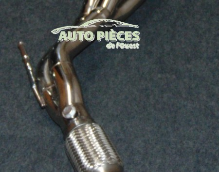ECHAPPEMENT COLLECTEUR MANJO STAINLESS ACURA RSX DE 2002 A 2006 - BB14-O