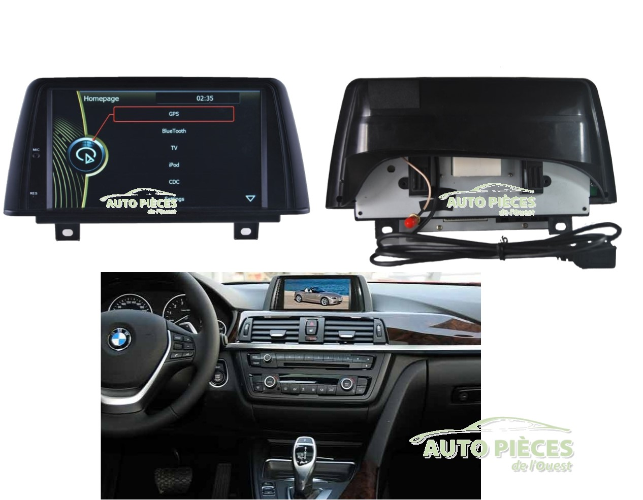 lecteur dvd autoradio bmw 1 serie f20 gps navigation multimedia hl8840gb auto pi ces de l 39 ouest. Black Bedroom Furniture Sets. Home Design Ideas