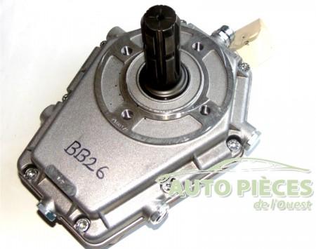 boitier multiplicateur pompe hydraulique G2-3 arbre male PTO -20 KW- ML52M20